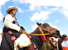 The Tagong Horse Festival of Ancient Kham Tour
