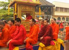 Teaching English to Novice Monks & local students, Luang Prabang (14n+) Tour