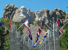 Discover South Dakota featuring Mount Rushmore & The Badlands (13 destinations) Tour