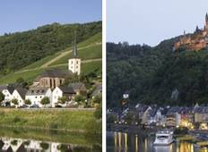 3 Rivers: the beautiful valleys of the Moselle, the romantic Rhine and the Neckar (port-to-port cruise) Tour