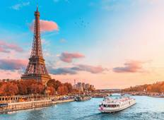 Short Break in Paris (port-to-port cruise) Tour