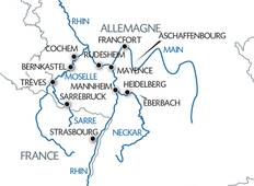 Discover the splendour : of the Rhine, Neckar, Main, Moselle and Saar valleys Tour