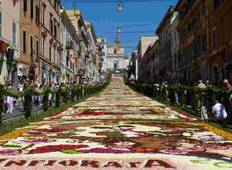 Corpus Christi in Umbria: the Feast of the Flowers Tour