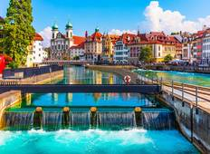 Festive Season on Romantic Rhine with 2 Nights in Lucerne (Northbound) Tour