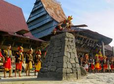 4D3N Colossal War Dance Nias Island Tour