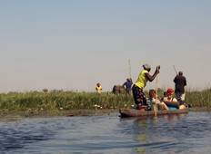 9 Days Victoria Falls and Okavango Delta Camping Tour
