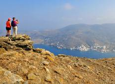 Cyclades walking holidays. Exploring Naxos and Amorgos Tour
