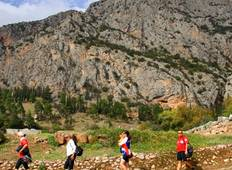 Southern Greece Archeological Walking Holidays; Peloponnese and Delphi Tour