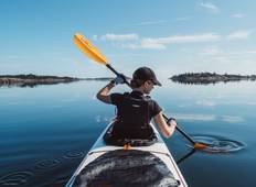 Solo Traveller - Guided Kayak & Wild Camp the Archipelago Tour