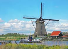 Springtime Tulip River Cruise featuring Dutch and Belgian Waterways Tour