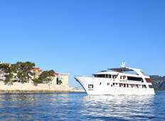 Deluxe Adriatic Cruise M/S EQUATOR - One way - Dubrovnik to Split (A620) Tour