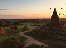 Travel to relax with Day cruise between Mandalay-Bagan Tour