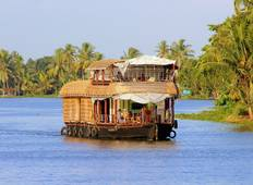 Kerala Highlights with Houseboat Stay Tour