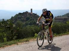Cycling through unexplored Istria-guided Tour