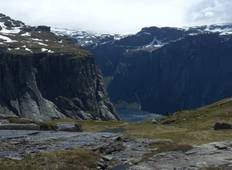 Trekking in den Fjords in Norwegen Rundreise