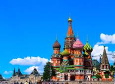 Easy Pace Russia with Christmas Markets (Winter 2019 2020) Tour