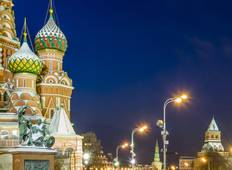 Easy Pace Russia with Christmas Markets (Winter 2018-19, 8 Days) Tour