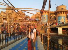 Enchanting Varanasi with Golden Triangle  Tour