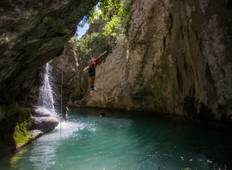 Canyoning and Hiking on the Montenegrin Seaside Tour
