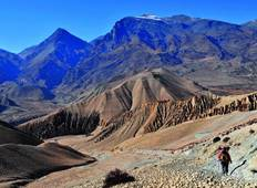Upper Mustang Valley Trek - 15 Days Tour