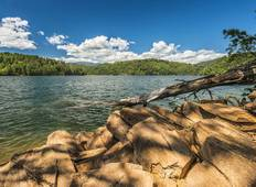 Fontana Lake - Hazel Creek Tour