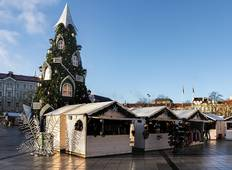 Vilnius Christmas Market Weekend Break (Guaranteed Departure) Tour