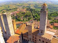 Tuscan & Umbrian Countryside featuring Italy\'s Charming Hill Towns (Rome to Tuscany) (2019) Tour