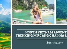 North vietnam adventure tours 7 day Tour