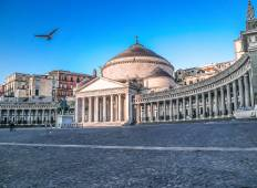 Italy by train experience with art & food in Roma, Naples & Sorrento Coast Tour