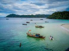 Passage Across The Andaman Sea (from Ranong to Kawthaung to Departures) Tour
