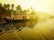 Kerala Backwater With Exotic Beaches Tour