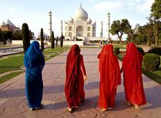 Magic of the Taj Mahal & Lord Krishna - 6 Days Tour