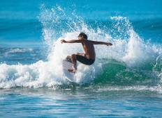 Costa Rica Beginner Surfing  Tour