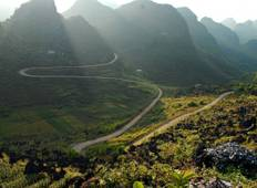 10 Day: Ha Giang Loop by Motorbike - Halong bay and Cat Ba Island kayaking - Hue History discover and Hoi An Cycling Tour