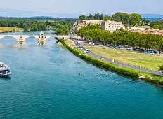 Enchanting Rhone with Barcelona (from Barcelona to Paris) Tour