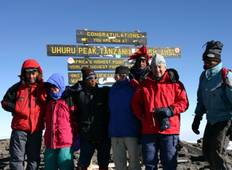 Kilimanjaro Climb -Lemosho Route 8 Days 7 Nights  Tour