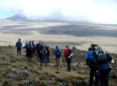 Marangu Route 6 Days 5 Nights  Tour