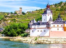 Festive cruise on the Rhine River (port-to-port cruise) Tour