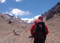 Aconcagua South Wall: Trekking to Plaza Francia Tour