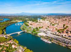 Treasures of Burgundy and Provence: Rhône & Saône (Lyon - Lyon) Tour
