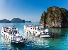 Stay & Cruise: Hanoi to Halong Bay Best Deal with Bhaya Cruise Tour