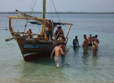 Wasini Dhow Excursion: Snorkelling and Dolphins Kenya Coast: Kisite Mpunguti Tour
