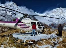 Annapurna Base Camp Helicopter Landing Tour  Tour