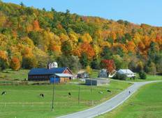 Vermont Fall Foliage: Lake Champlain Valley - 6 Days Tour