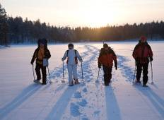 Off The Trails - Snowshoeing tour Tour