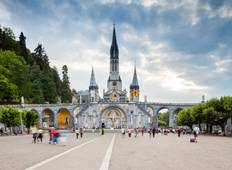 Paris, Lourdes und Madrid Rundreise
