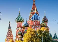 Remarkable Russia (from St Petersburg to Moscow) Tour