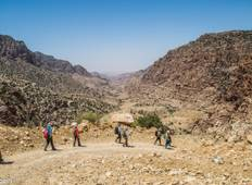 Dana to Petra Trek - Hiking the Jordan Trail Tour
