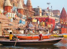 Golden Triangle with Khajuraho and Varanasi Tour