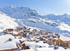 Private Snow break in Val Thorens, one of the best French ski resorts Tour